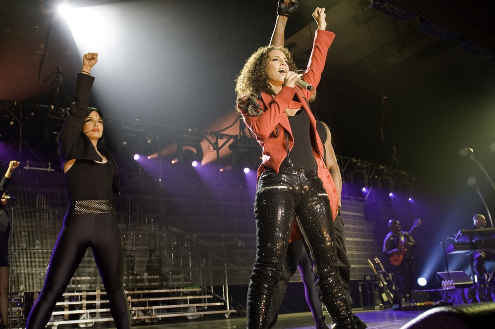 Alicia Keys Performing in the Bahamas @ Atlantis – April 20th