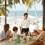 Enjoy a nice dinner on the beach with the kids!