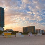 What could be better than watching the sun set from Miami's famed South Beach?