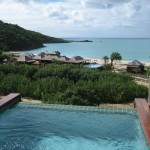 Private plunge pools highlight each posh accommodation!