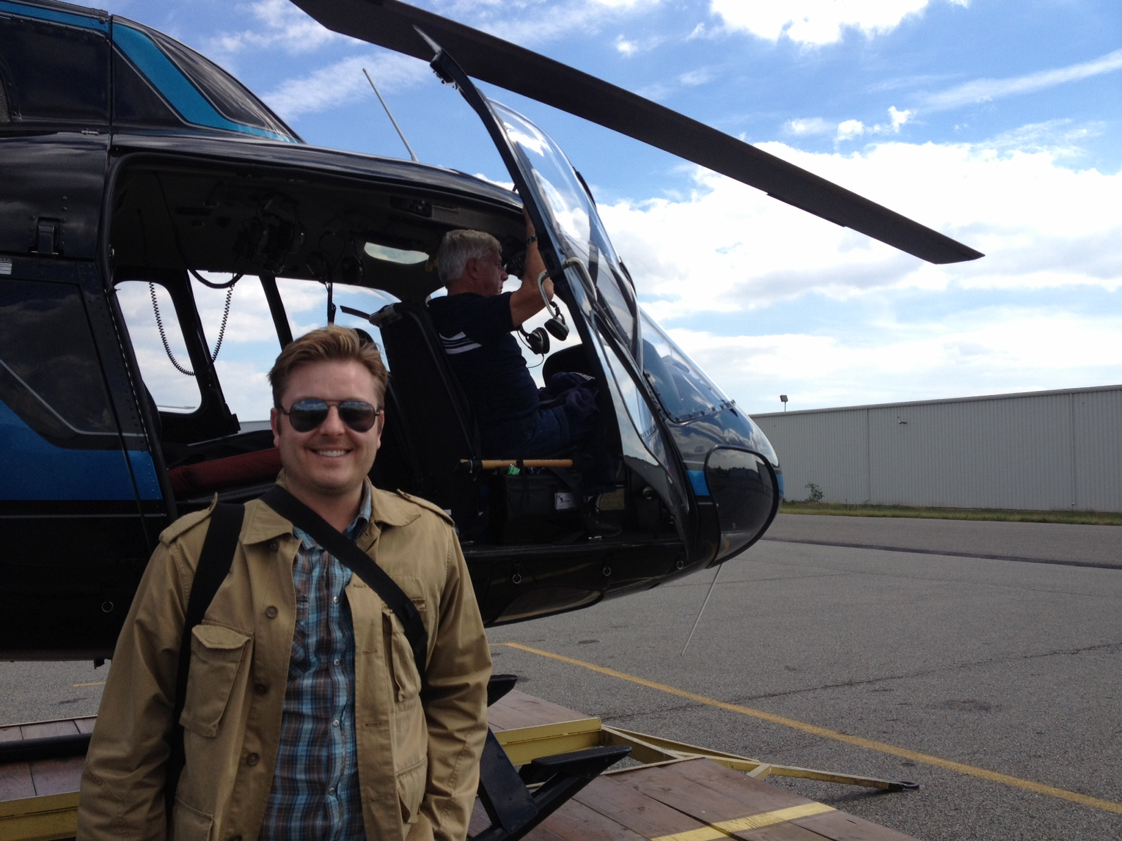 On the Go Extra: Away We Go with Location Manager Joshua Shull!