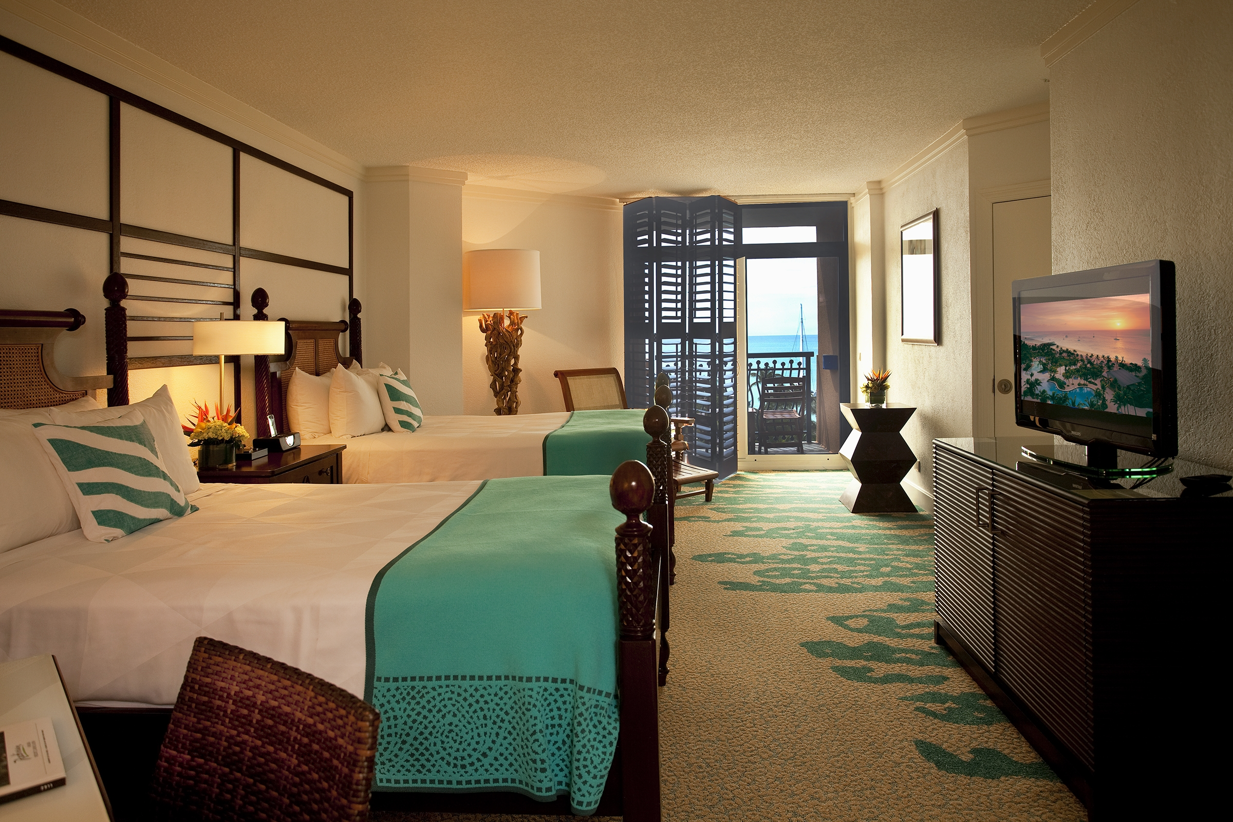 relax at the radisson aruba resort! |