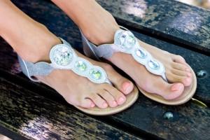 Sandals Travel Blogger