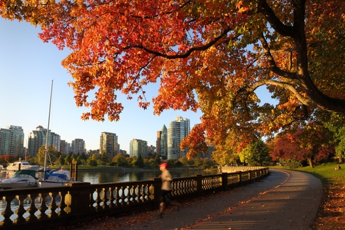 Vancouver is…