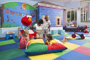 Beaches Ocho Rios Elmo Sesame Street Kids Club