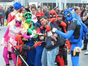 New York Comic Con cosplay
