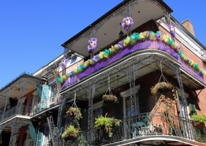 French Quarter Mardi Gras New Orleans