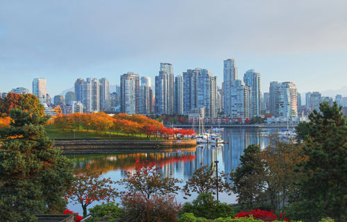 Fall Autumn Vancouver Canada