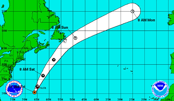 Storms and Island Destinations: Bermuda, Hawaii Brace for Gonzalo, Ana
