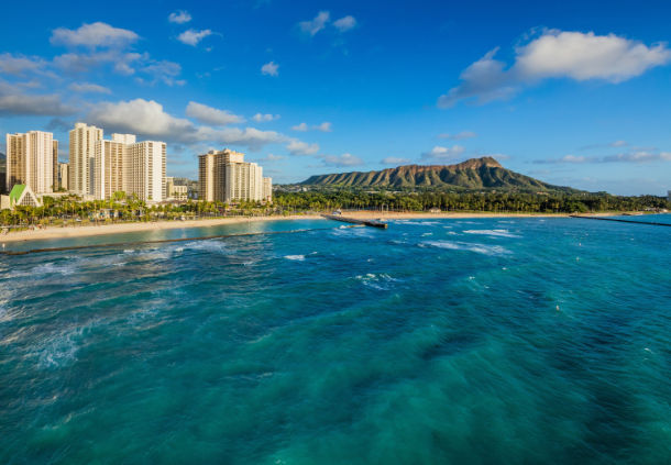Waikiki Beach Marriott offers year-round deals, so whenever you want to head to Hawaii, you'll do so with reduced rates.
