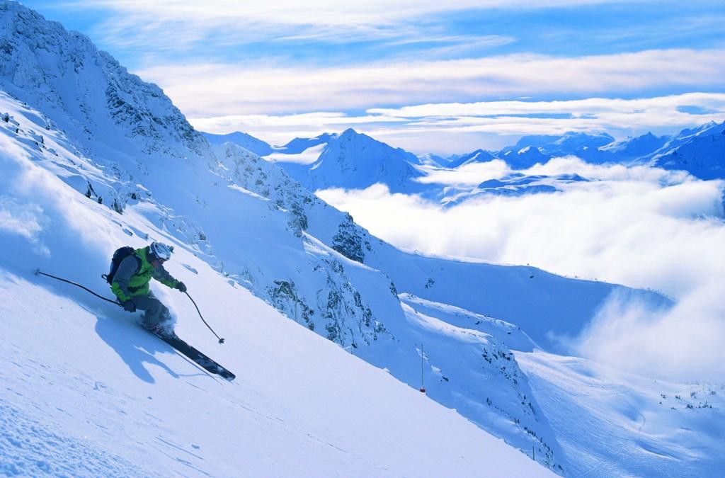 Whistler Skiing Greg Giffith