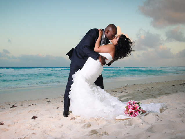 Embrace your love at Palace Resorts in Mexico and the Caribbean. (Celina & Victor's Wedding at Beach Palace)