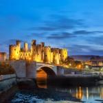 Conwy Castle Snowdonia Wales