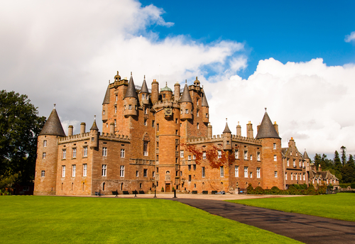 Glamis Castle of Her Majesty Queen Elizabeth, The Queen Mother