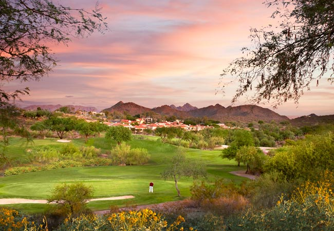 Lookout Mountain Golf Club Phoenix Golf Point Hilton