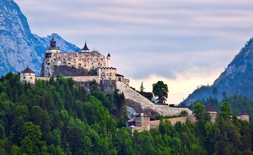 Hohenwerfen Castle and Fortress, Salzburg, Austria