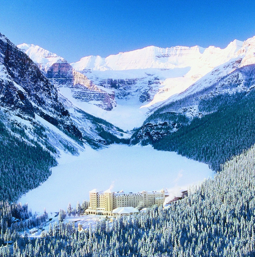 Fairmont Chateau Lake Louise ski alberta