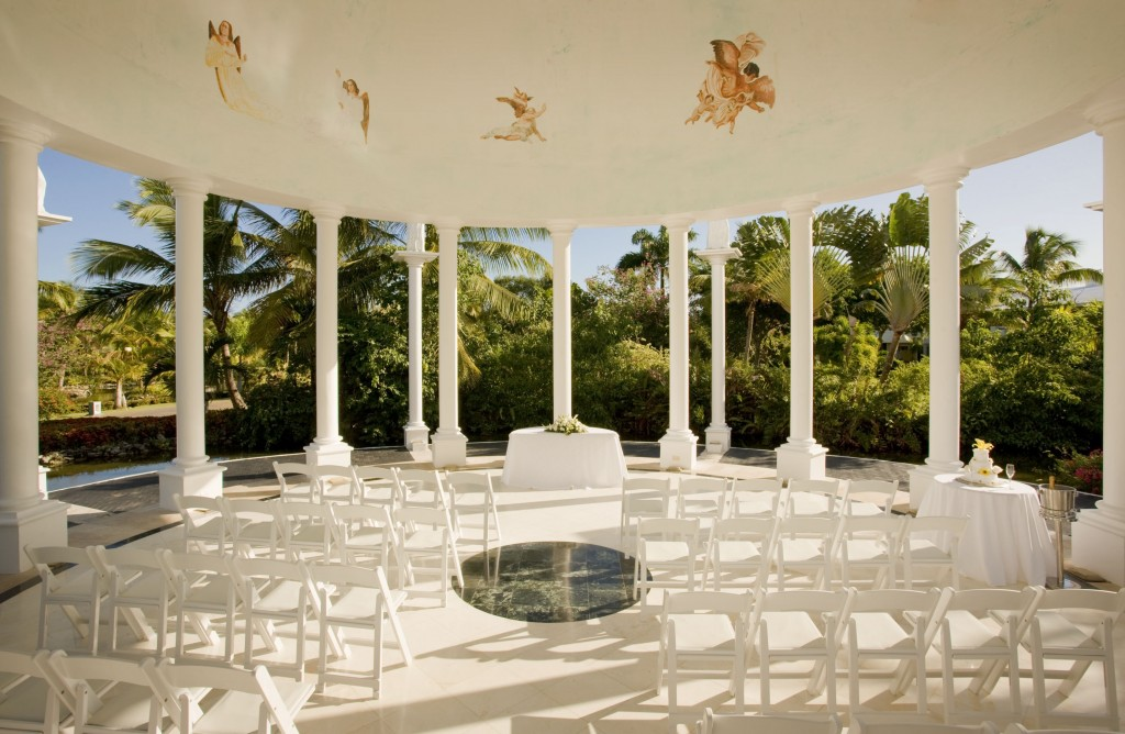 Melia Caribe Tropical wedding gazebo