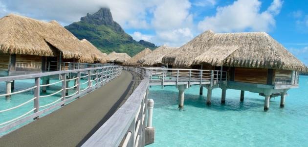 Overwater Bungalow Bora Bora French Polynesia