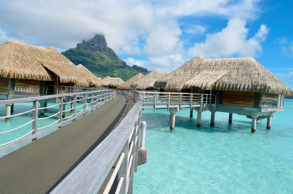 Somewhere Over the Water: 5 Overwater Bungalows in the Islands of Tahiti
