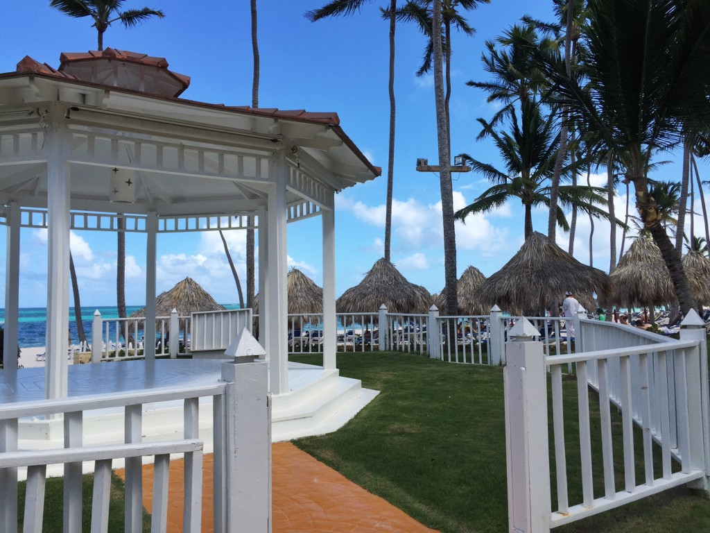 Melia Caribe Tropical beach gazebo