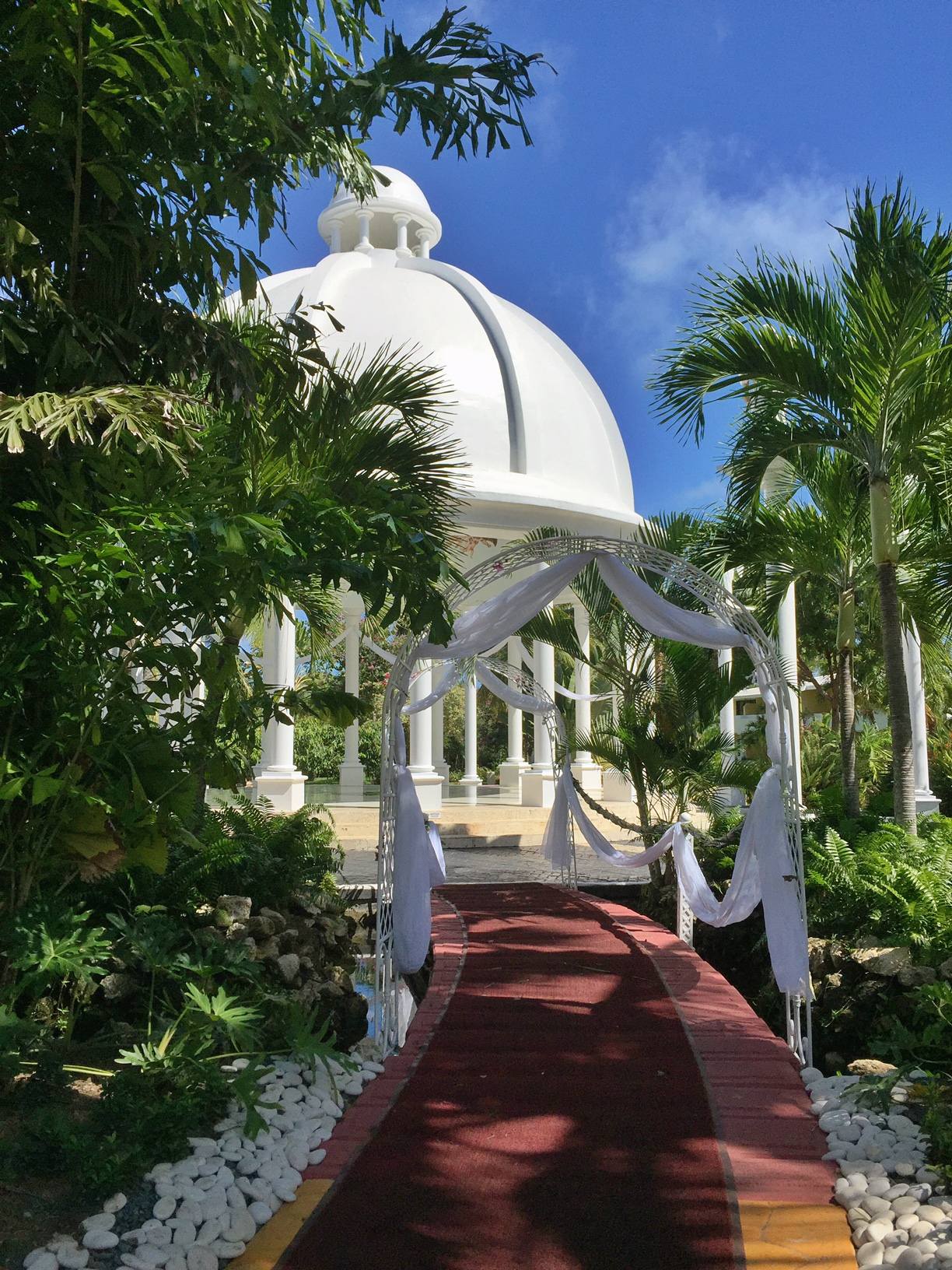 Melia Caribe Tropical Wedding Gazebo