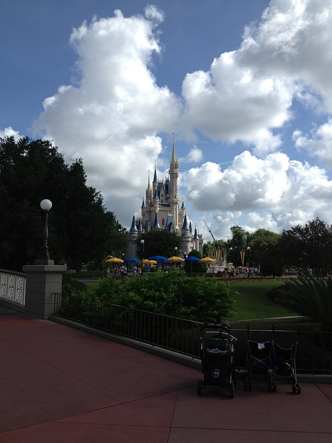Disney World Cinderella Castle Magic Kingdom