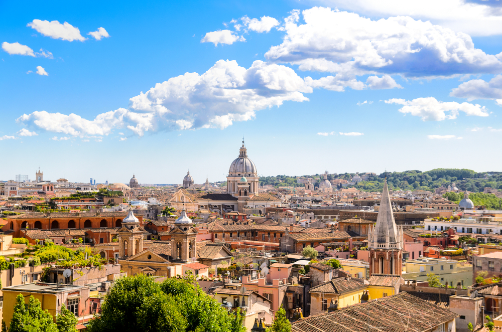 Rome Italy St. Peter's Cathedral