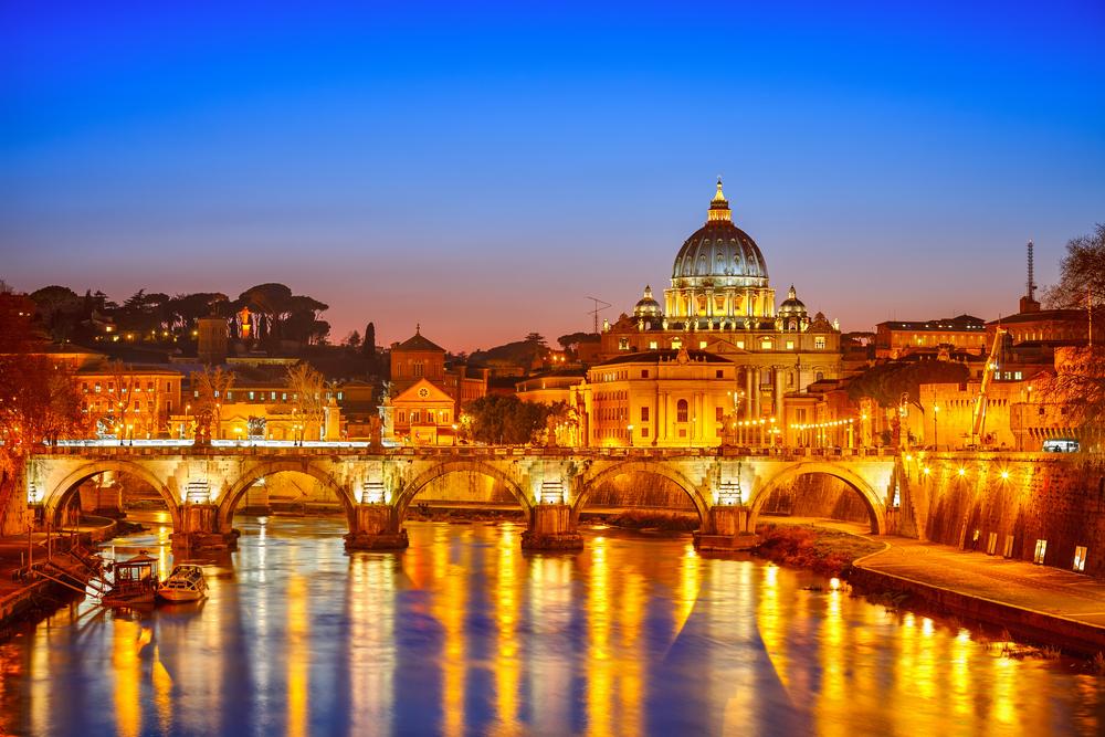 Vatican City St. Peter's Basilica Rome