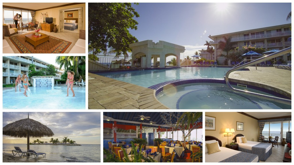 Holiday Inn SunSpree Montego Bay collage