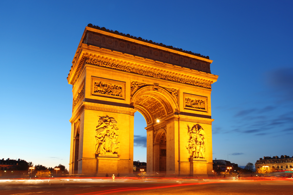 Arc de Tromphe Paris France