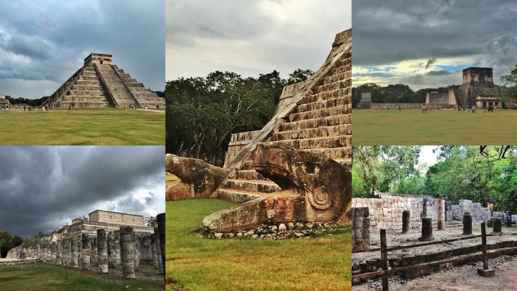 Chichén Itzá Collage