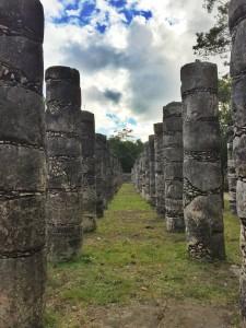Chichén Itzá Thousand Pillars