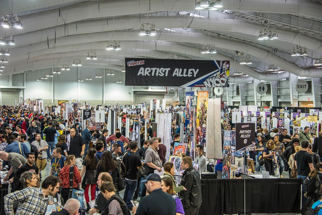 New York Comic Con Artist Alley 2014