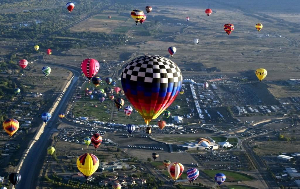 Mass Ascension Albuquerque International Balloon Festival