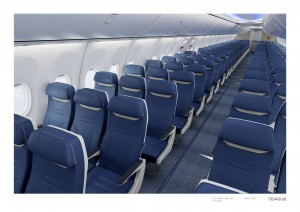 Southwest Airliens new seats