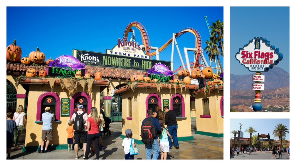 Theme Park Collage California