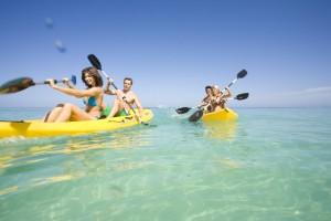 Beaches Resorts paddle