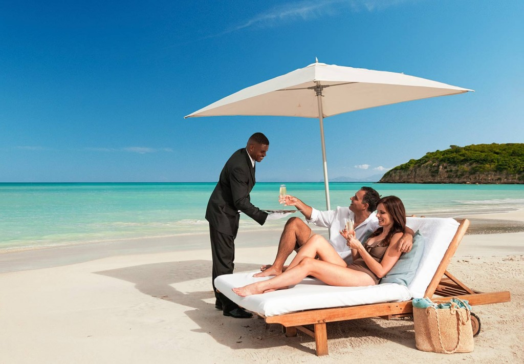 Adults-only Sandals Resorts and family-friendly Beaches Resorts pamper guests of every age with professional butler service available in select suite categories.