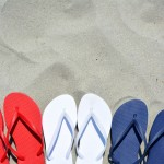 Memorail Day Flip Flops