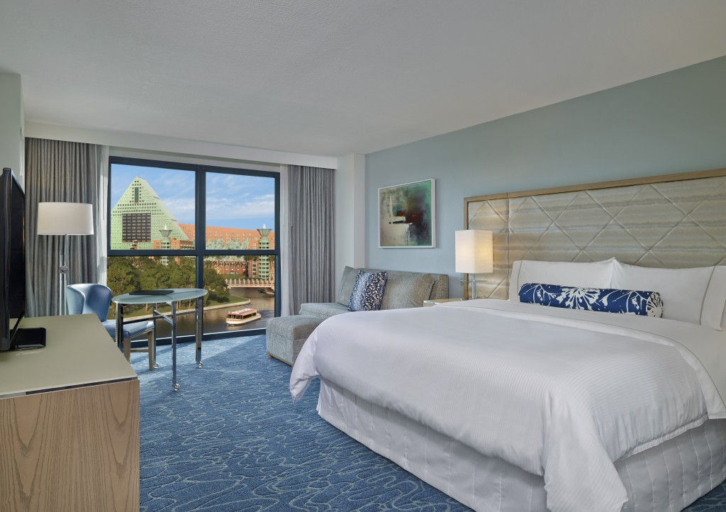 New Walt Disney World Swam guest room