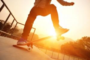 Skateboarding Woodward Riviera Maya