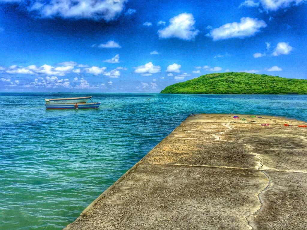 Blue Seas in Mauritius