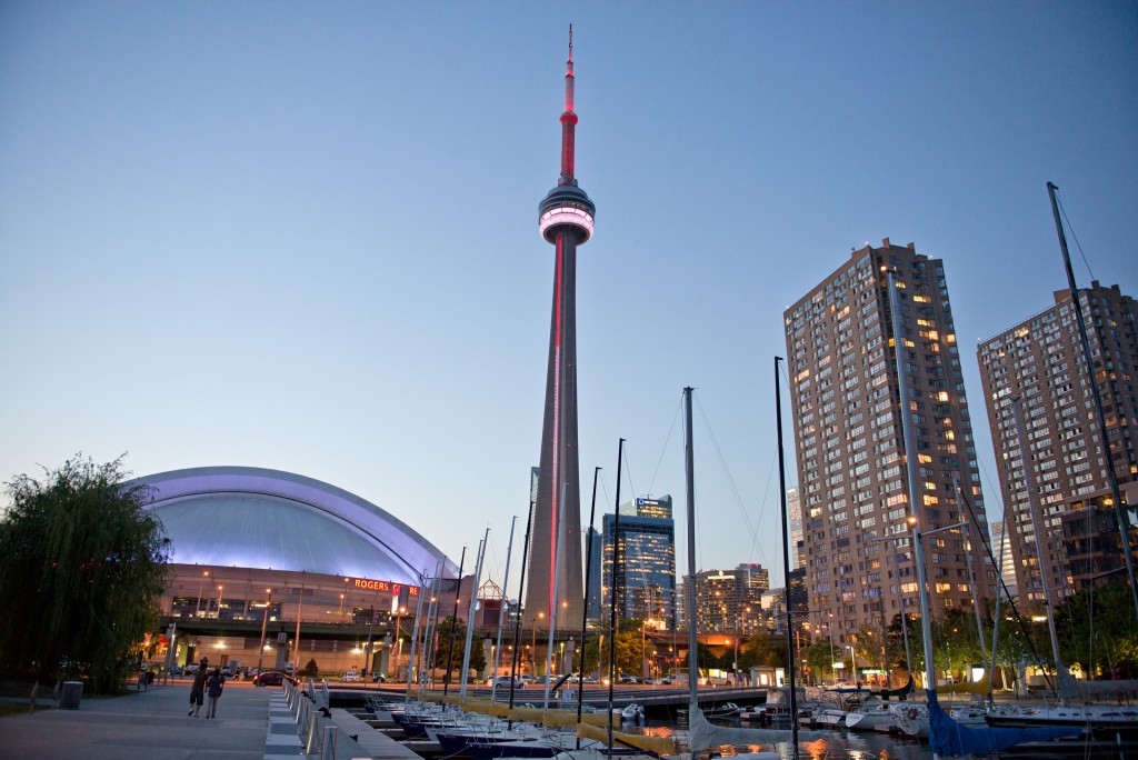 CN Tower and Harbour Waterfront