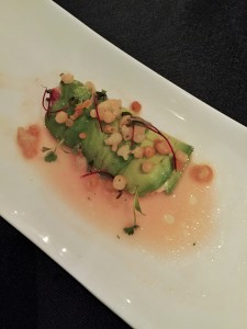DIvas Dinner - Lionfish with Avocado Roll
