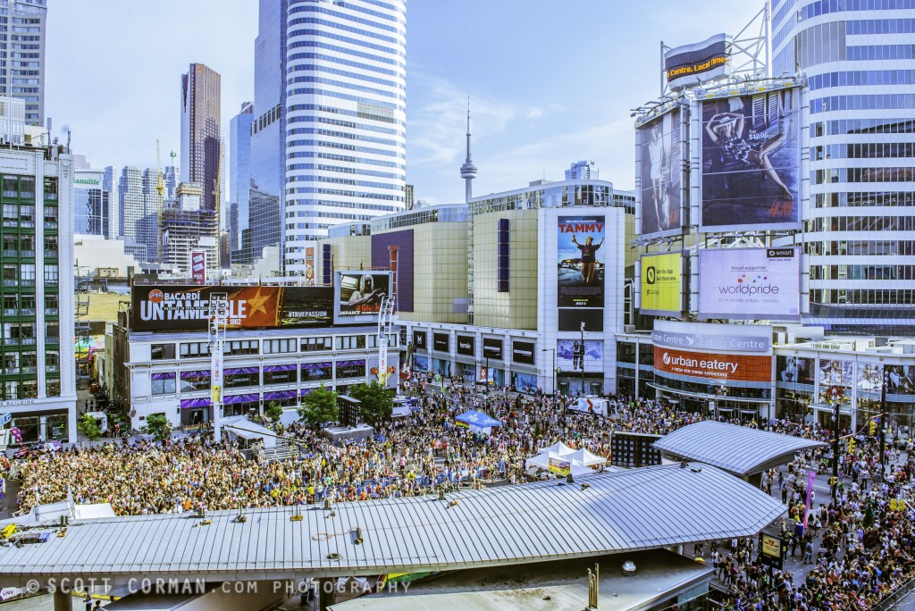 Yonge-Dundas Day (Credit: Scott Corman)