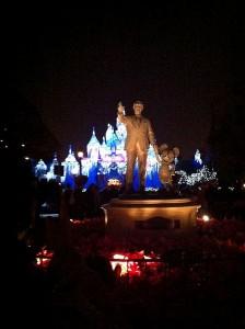 Holiday Lights at the Magic Kingdom