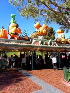 A Halloween Welcome at the Magic Kingdom