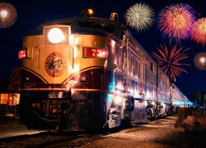 New Year's Eve Train