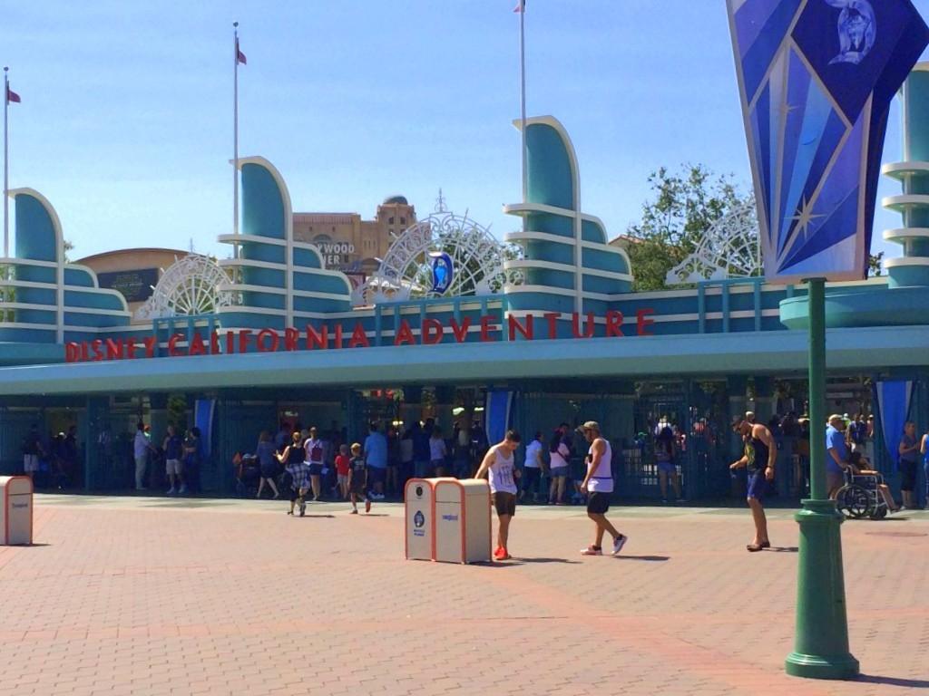 Main Gate of California Adventure
